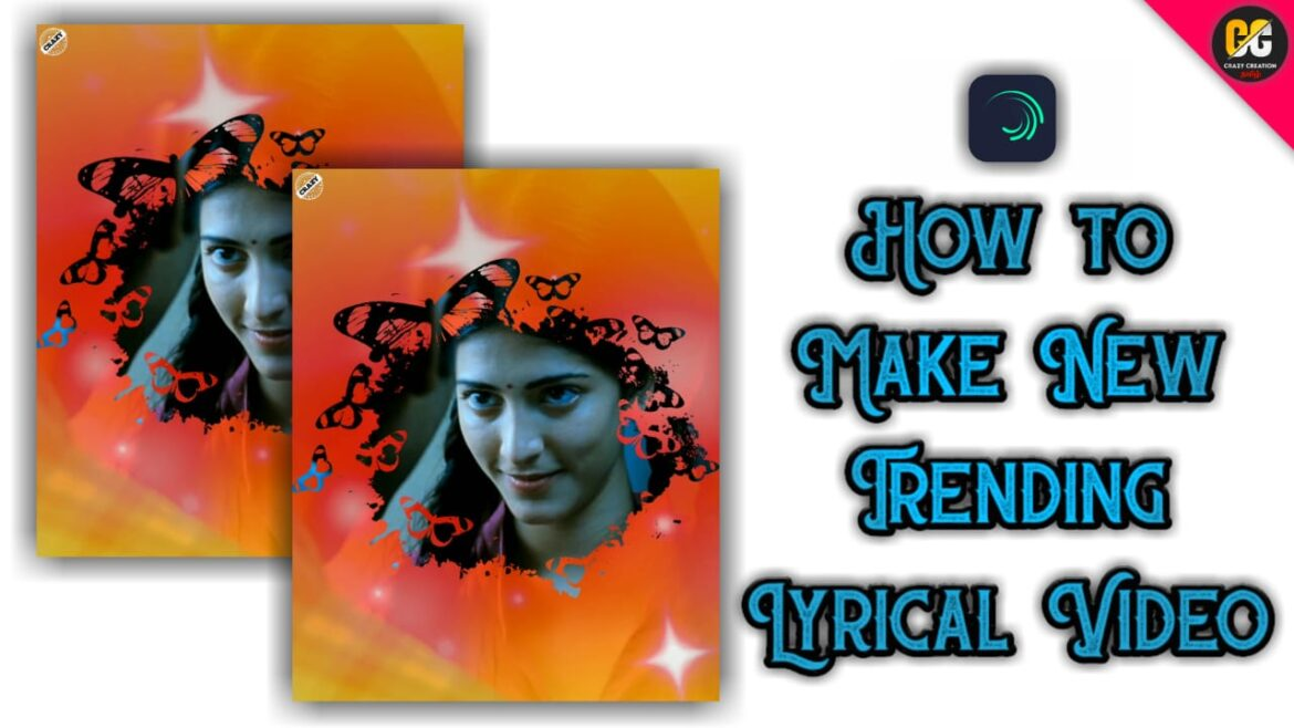 How to Make Awesome status video in Alight Motion | crazy creation tamil